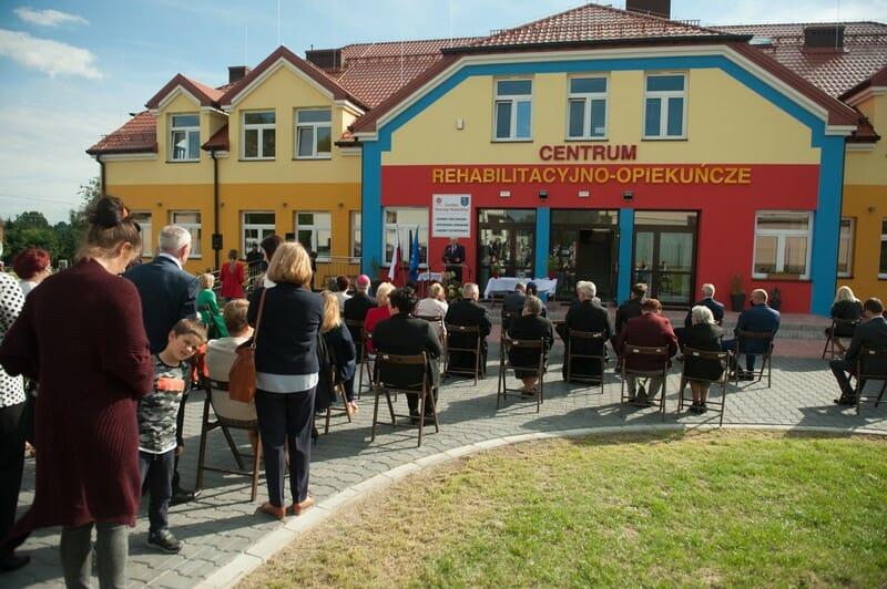 otwarcie centrum rehabilitacyjn-opiekuńczego w Stopnicy